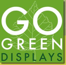 Looking for Green Displays & Banner Stands in NJ? Contact Go Green Displays for quality green displays, banner stands, trade show lighting & flooring. Go Green Displays are the leaders in green display solutions.