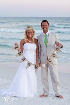 Take pic during honeymoon!