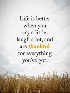 Thanks God for everything
