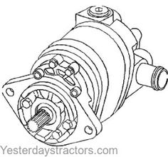 New Hydraulic Pump 70263552 Fits Allis Chalmers 6060 6080 > One New Aftermarket Replacement Hydraulic Pump Made to Fit Allis Chalmers Tractor Triumph Motorcycles, Ducati, Motocross, Mopar, Lamborghini, Allis Chalmers Tractors, Diy Tank, Hydraulic Pump, Antique Tractors