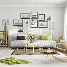 Scandinavian Shades of White by Milan Stevanovic, via Behance