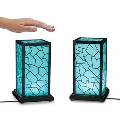Long Distance Touch Lamp- wirelessly linked via wifi