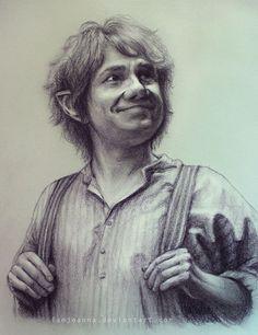 The Hobbit: New Bilbo Baggins Drawing!