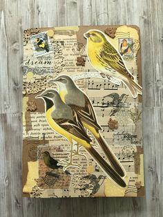 Art Journal Pages, Junk Journal, Bullet Journal, Glue Book, Artist Trading Cards, Snail Mail, Mix Media, Tim Holtz, Journal Inspiration