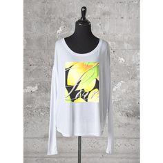 Love Longsleeve Tee (€76) ❤ liked on Polyvore featuring tops, t-shirts, blouses, longsleeve t shirts, long sleeve t shirts, longsleeve tee, long sleeve tees and long sleeve tops