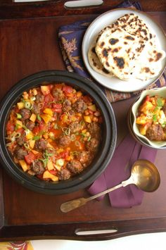 Meatball & Chickpea Tagine...okay I'm making this for my madre! Got ...