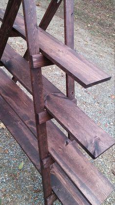 A-frame ladder display shelf 5 foot tall by CreationFanatic