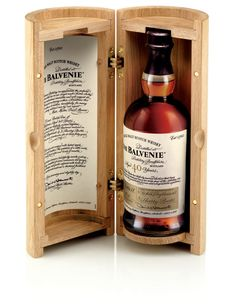 The Balvenie Forty - The Dieline -