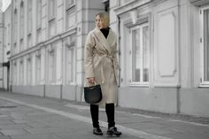 Vila Beige Camel Coat Bestseller Street style Fashion Bykrog (1 of 5)