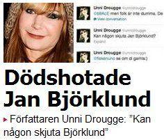 Svensk feminist dödshotar minister för tal i Almedalen | Ann-Mari's Blogg