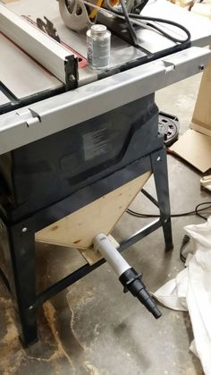 How to turn a shop vac into a diy dust collector dust collection i add a dust collector to my table saw there is an adapter for a shop vac keyboard keysfo Images