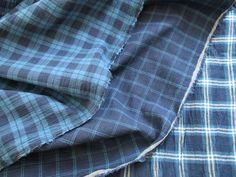 ▲綿(コットン) - 商品詳細 ワッシャーチェック 108cm巾/生地の専門店 布もよう