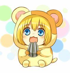 Hamtaro Armin ( ^_^ )...fucking cute...