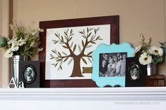 Family Heritage Mantel