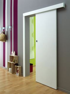 Awesome Interior Sliding Doors Ideas For Every Home - Engineering Discoveries Sliding Door Design, Sliding Doors, Home Engineering, Welcome To My House, Closet Doors, Glass Door, Tall Cabinet Storage, Small Spaces, Sweet Home