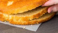 Tortenboden selber machen, so geht's Onion Rings, Hot Dog Buns, Bagel, Parfait, Cornbread, Panna Cotta, Buffet, Food And Drink, Ethnic Recipes