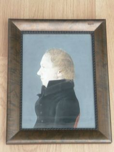 An Original 18th Century  Painting of a Gentleman c 1790 #Realism