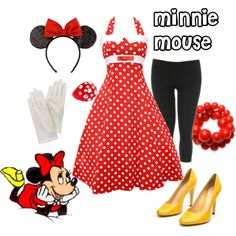 You should dress up as Minnie Mouse when you go to school on Finley's birthday!!!! :)