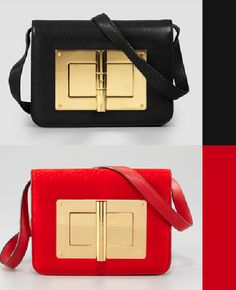 Black & Red Tom Ford bags FW 2012