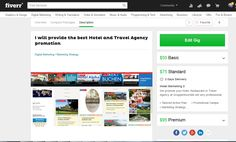 I will provide the best Hotel and Travel Agency promotion http://dld.bz/eVAeB