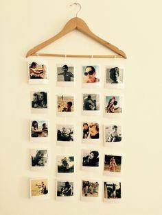 Mural fotos – Home decor Diy Wall Decor For Bedroom, Photo Wall Decor, Room Ideas Bedroom, Decor Room, Polaroid Wall, Polaroid Display, Aesthetic Room Decor, Diy Home Crafts, Fotos Ideas