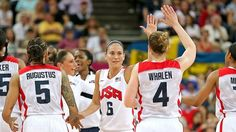 Team USA shut down France and rolled to a fifth straight gold medal in women's hoops