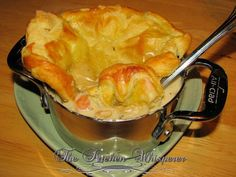 Turkey Pot Pie with a Puff Pastry Crust