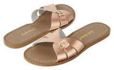 Salt Water Sandals Classic Slides Rose Gold Adult ✓Shop Salt Water Sandals online bij Little Wannahaves ✓Bezoek onze winkel in Utrecht ✓