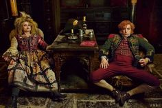 The Les Mis Cast Poses For Awesome Old-Timey Portraits by Anne Leibovitz
