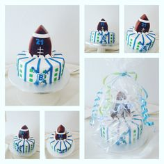 BraveHearts Football Torte