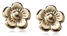 Children's 14k Flower Safety Earrings Amazon Curated Collection. $66.99. Made in USA. Save 39% Off!