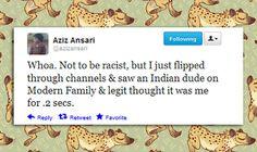 Aziz Ansari Is Hilarious
