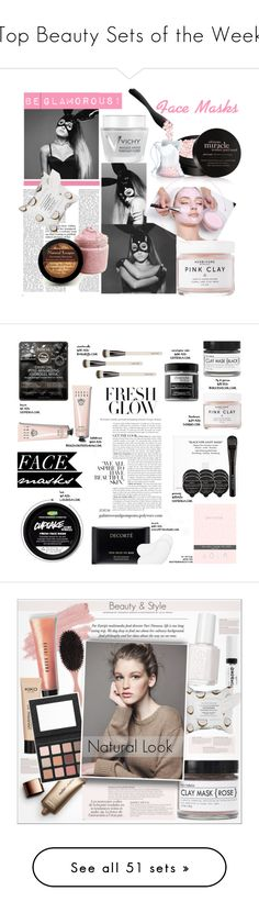 """""""Top Beauty Sets of the Week"""" by polyvore ❤ liked on Polyvore featuring beauty, Herbivore, philosophy, Vichy, Sephora Collection, Boscia, Christophe Robin, Decorté, Chantecaille and Givenchy"""