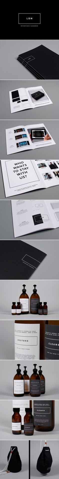 BLACK and white | collateral design