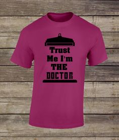 Trust me I'm the Doctor by TheBarkSideBoutique on Etsy