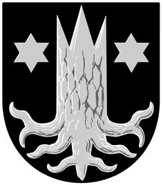 Municipality of Kemijärvi, Finland, Area Km²) Family Shield, City Logo, Family Crest, Crests, Coat Of Arms, Knight, Sci Fi, Symbols, Graphic Design