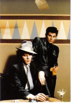 Nick Rhodes and Roger Taylor Nick Rhodes, Simon Le Bon, John Taylor, Great Bands, Cool Bands, Birmingham, Roger Taylor Duran Duran, Uk Singles Chart, Fab Five