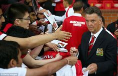 Louis van Gaal is attempting to stamp his mark on Manchester United straight away