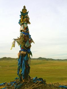 Mongolia.  Shamans Alter.