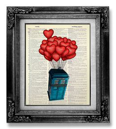 Dr. Who art. www.etsy.com/listing/172135400/tardis-doctor-who-geekery-poster-dr-who