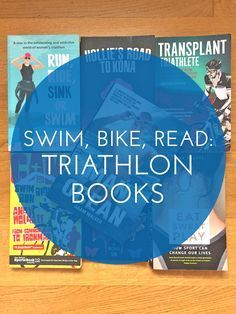 Looking for an inspirational book about triathlon? These seven triathlon books are must-reads for anyone who likes to swim, bike, run and read! Ironman Triathlon Motivation, Sprint Triathlon, Triathlon Training, Training Plan, Running Training, Trail Running, Triathlon Distances, Triathalon, Sink Or Swim