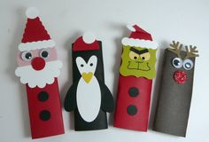Cute Hershey Bar covers/holders for the Christmas time!