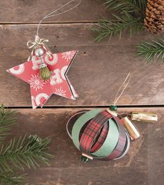 how to make a star ornament christmas stars christmas diy xmas christmas activities - Joann Fabrics Christmas Decorations