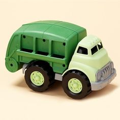 Eco-Recycle Truck made from eco friendly materials.