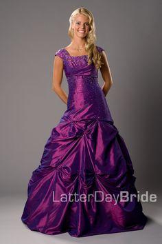 Bridesmaid & Prom, Akela | LatterDayBride & Prom -Modest Mormon LDS Prom Dress