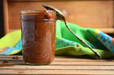Sweet, tangy, smoky, and a little spicy, this Apple Butter BBQ Sauce is delicious on just about anything!