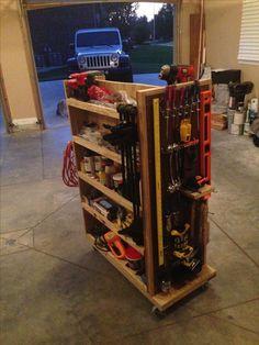 Resultado de imagen de diy tool cart