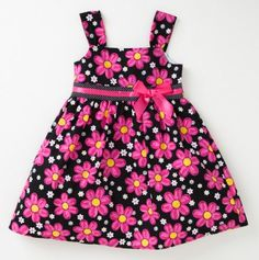 Infant Girls' Spring Flowers Party Dress