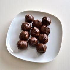 Chocolate Caramel Truffle Candy by NicolesTreats on Etsy, $12.00