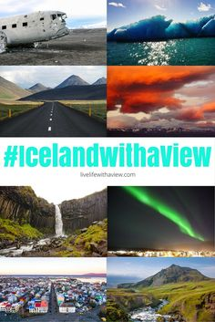 Northern lights, midnight sun, waterfalls, hiking and more! If you're looking for Iceland inspiration, use the hashtag #icelandwithaview on Instagram to discover beautiful Iceland photos! | Life With a View